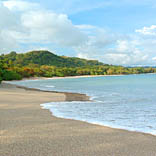 Playa los Cedros in Montezuma, Costa Rica.  Great left-point break.